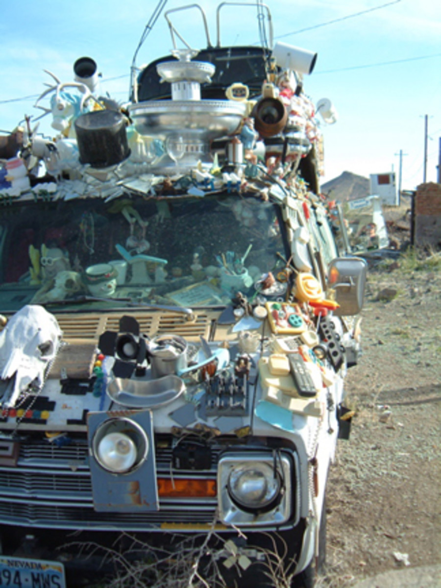 The Goldfield Art Car Park