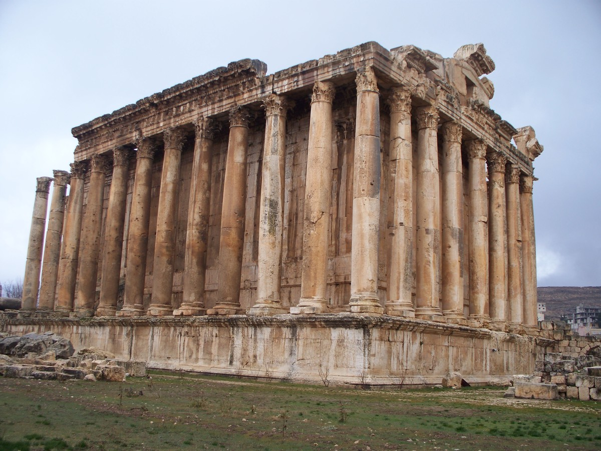 The Temple of Jupiter. Baalbek, Lebanon