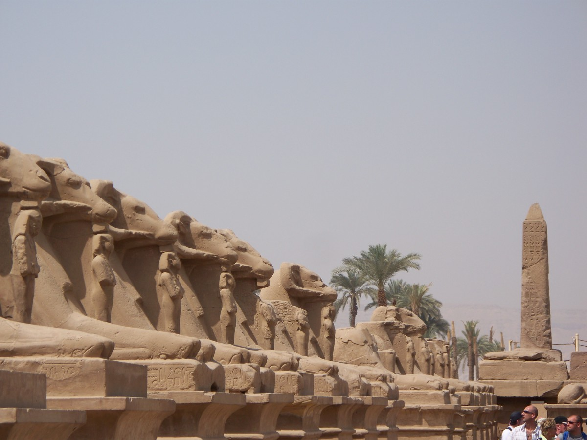 Corridor of the Sphinxes