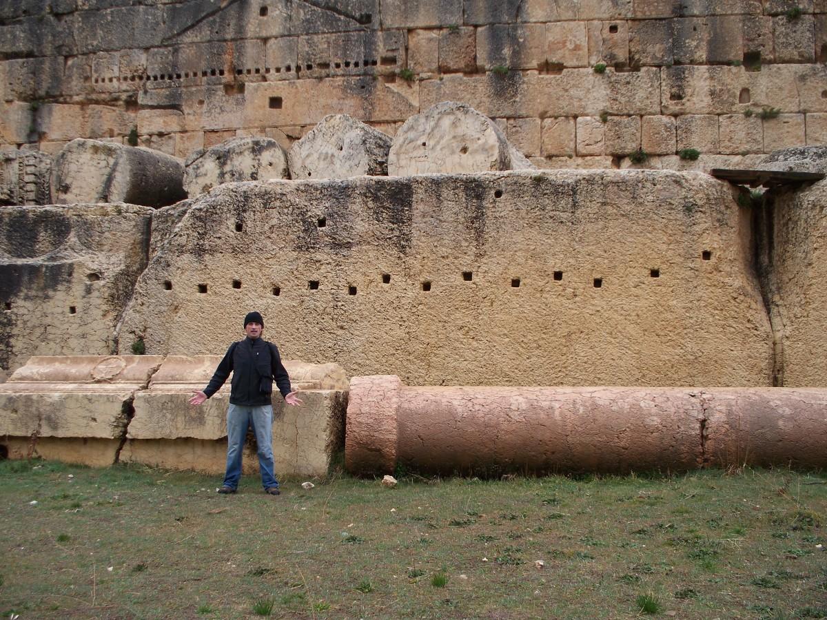MASSIVE foundation stones that predate the Romans