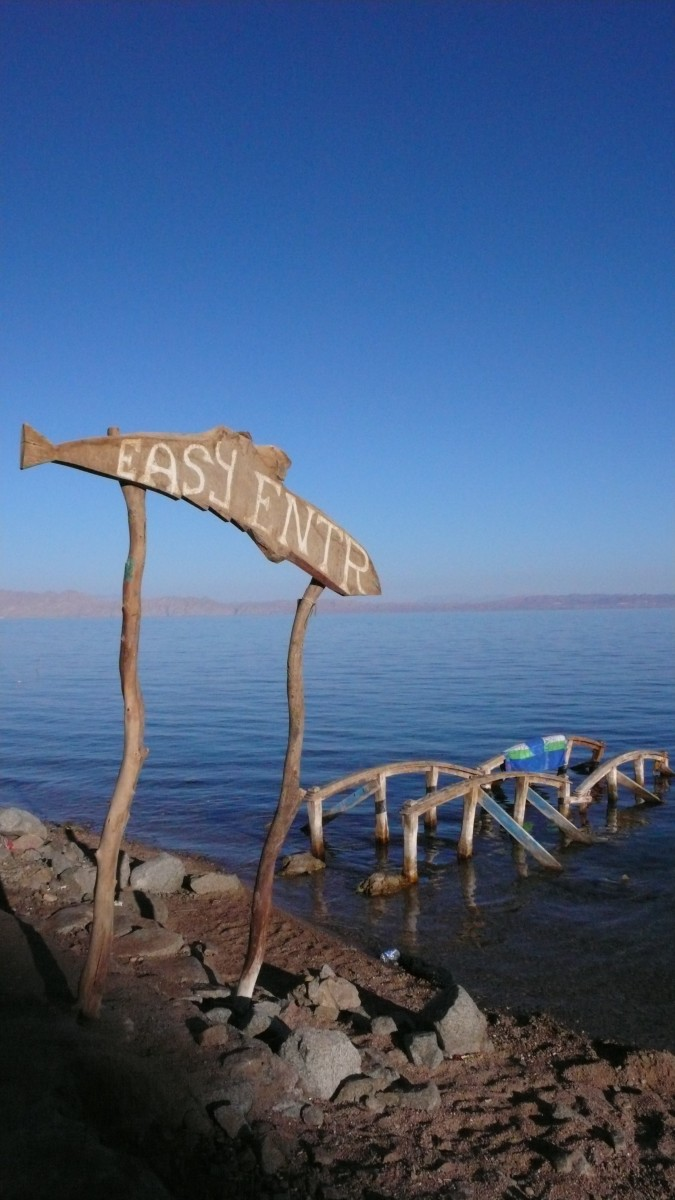 Dahab, Egypt (Photo courtesy of my pal, Malcolm Sweeney)