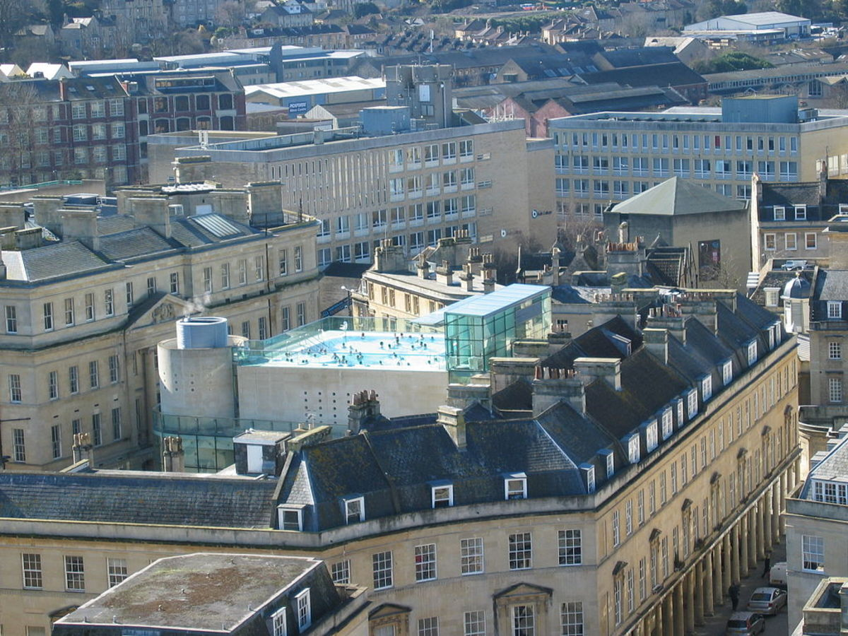 The Thermae Rooftop Bath