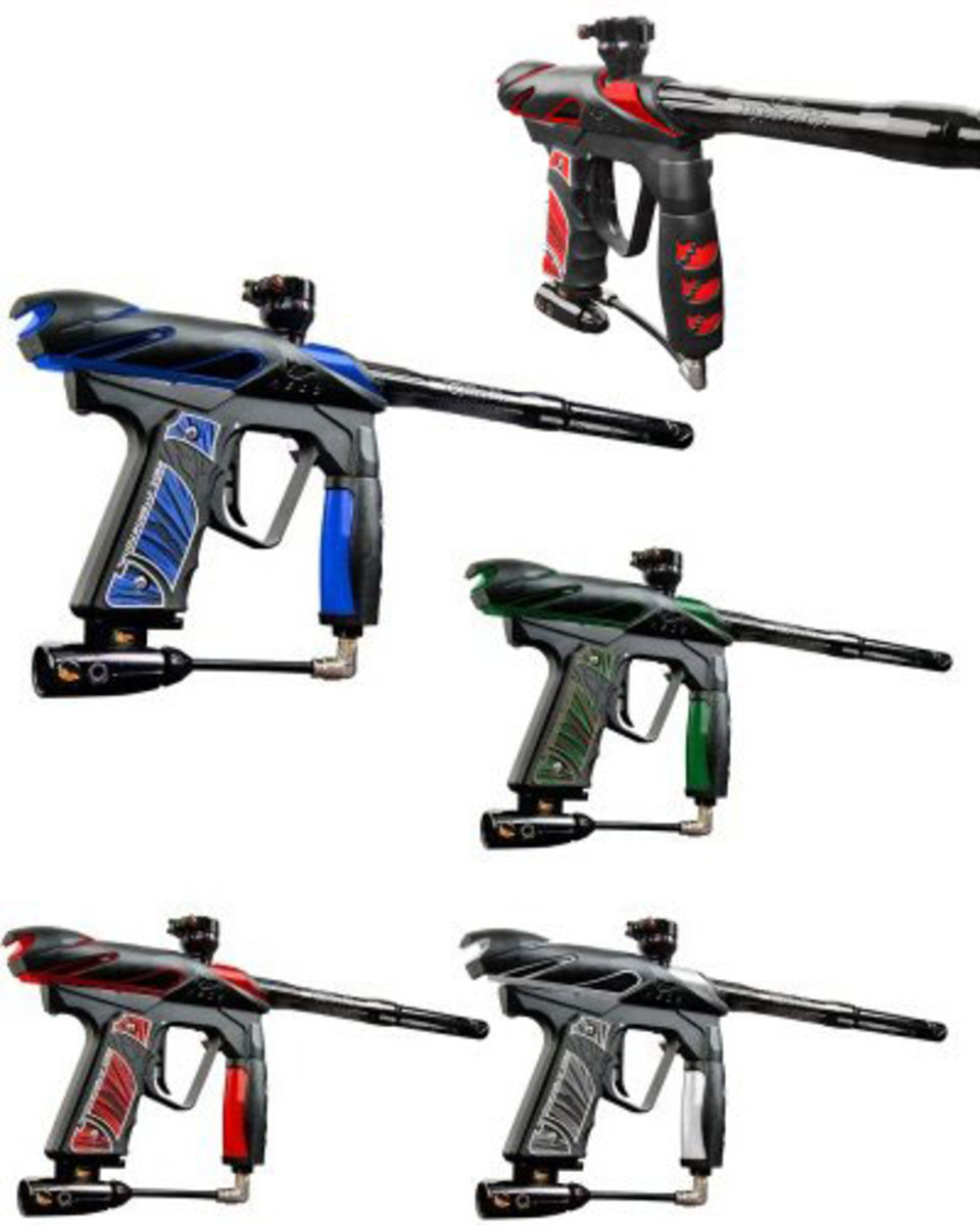 Highly affordable Ions make them the best paintball gun for some.
