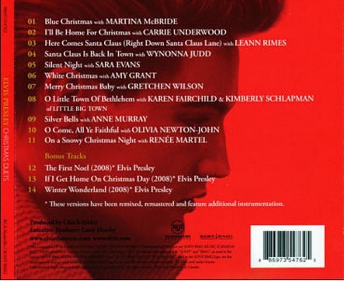 Elvis Presley Duets Track List
