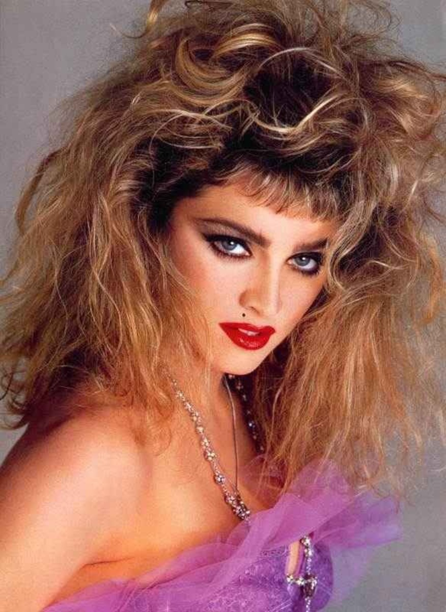 enchanting, casual, 80s, hair, makeup