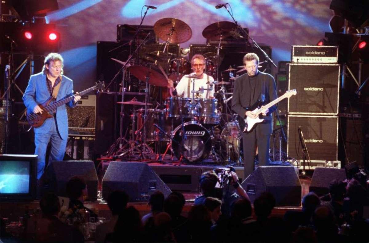 Cream reunion concert in 1993