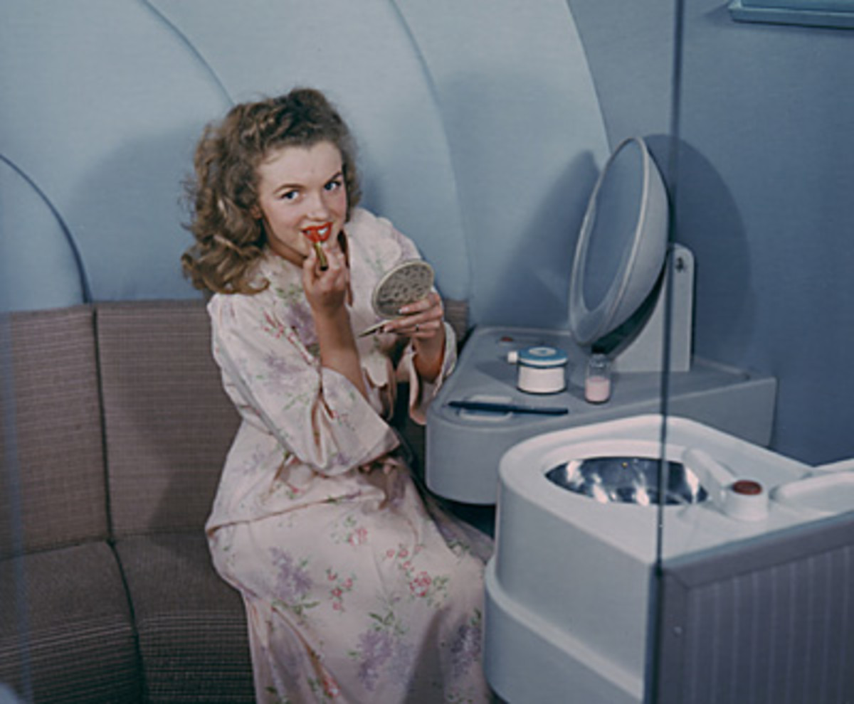 Norma Jean Baker (aka Marilyn Monroe)