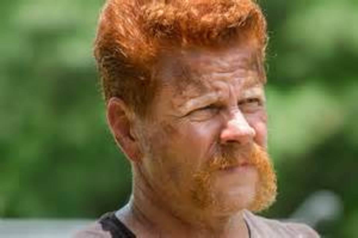 Michael Cudlitz as Abraham on The Walking Dead!!