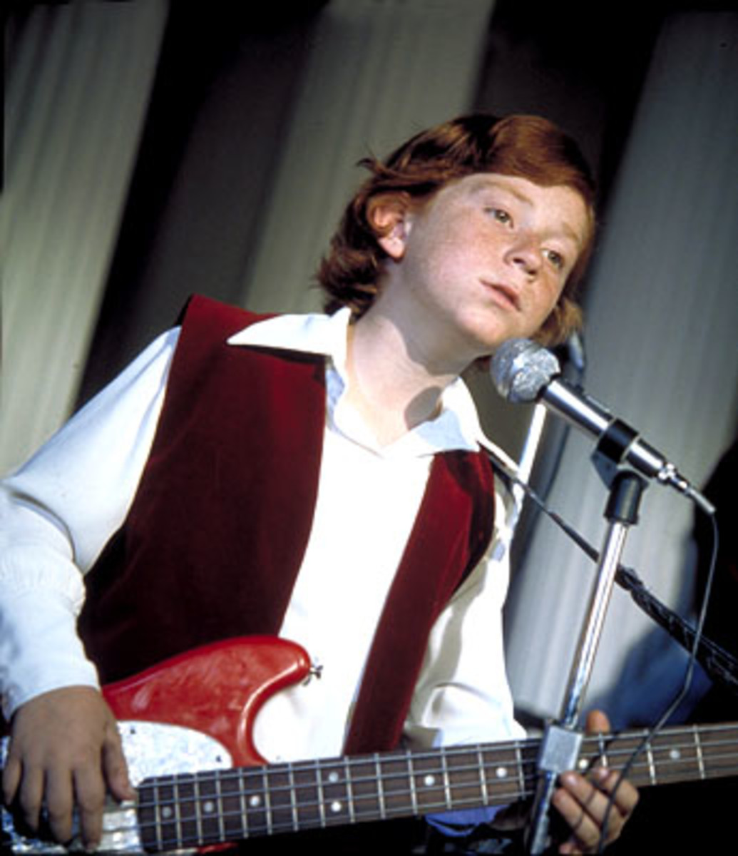 A young Danny Bonaduce from his days on The Patridge Family