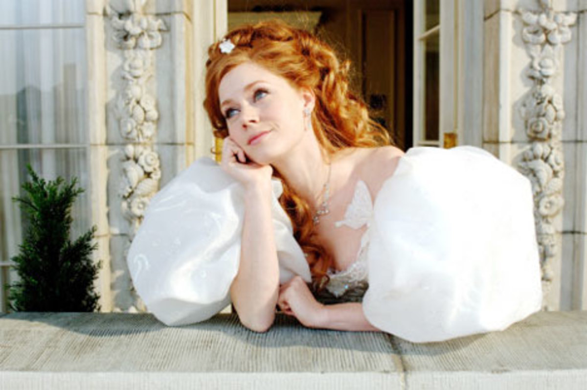 Amy Adams in Enchanted.  My daughter loved this movie!!