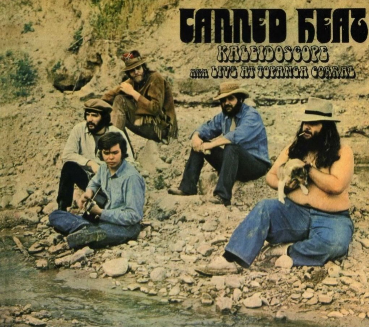 """Canned Heat """"Live at the Kaleidoscope AKA Live at Topanga Corral"""" Lilith Records LR137 12"""" LP Vinyl Record (1968) UK Pressing"""