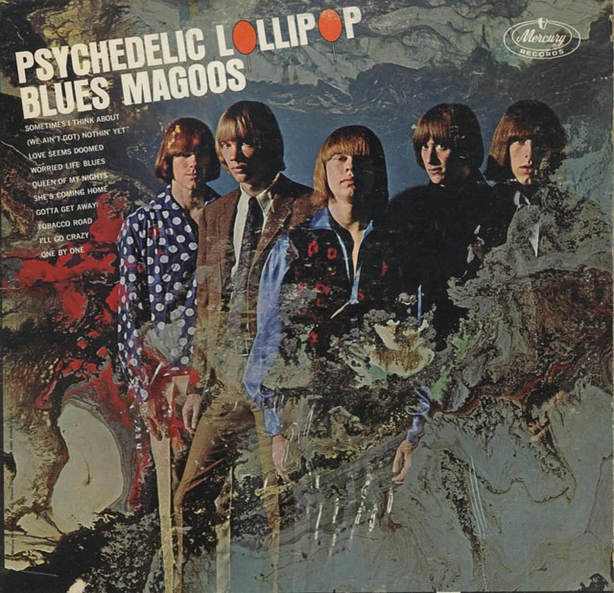 "Blues Magoos ""Psychedelic Lollipop"" Mercury Records MG 21096 12"" LP Vinyl Record, US Pressing (1966)"