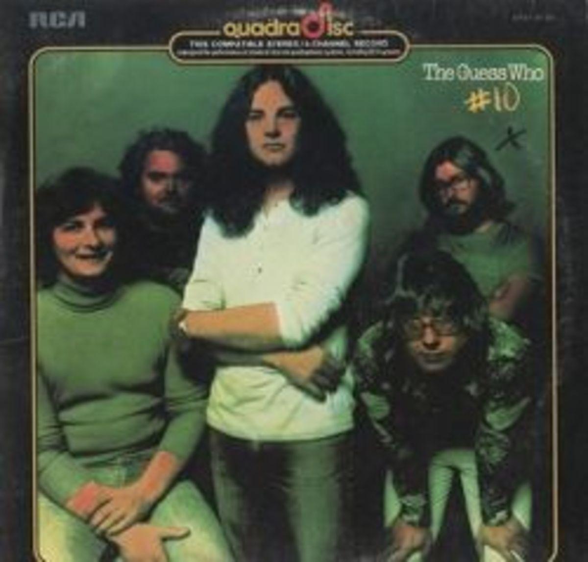 The Guess Who #10 RCA APO1-0130 Quadraphonic Stereo 4 Channel Quad Stereo LP Vinyl Record