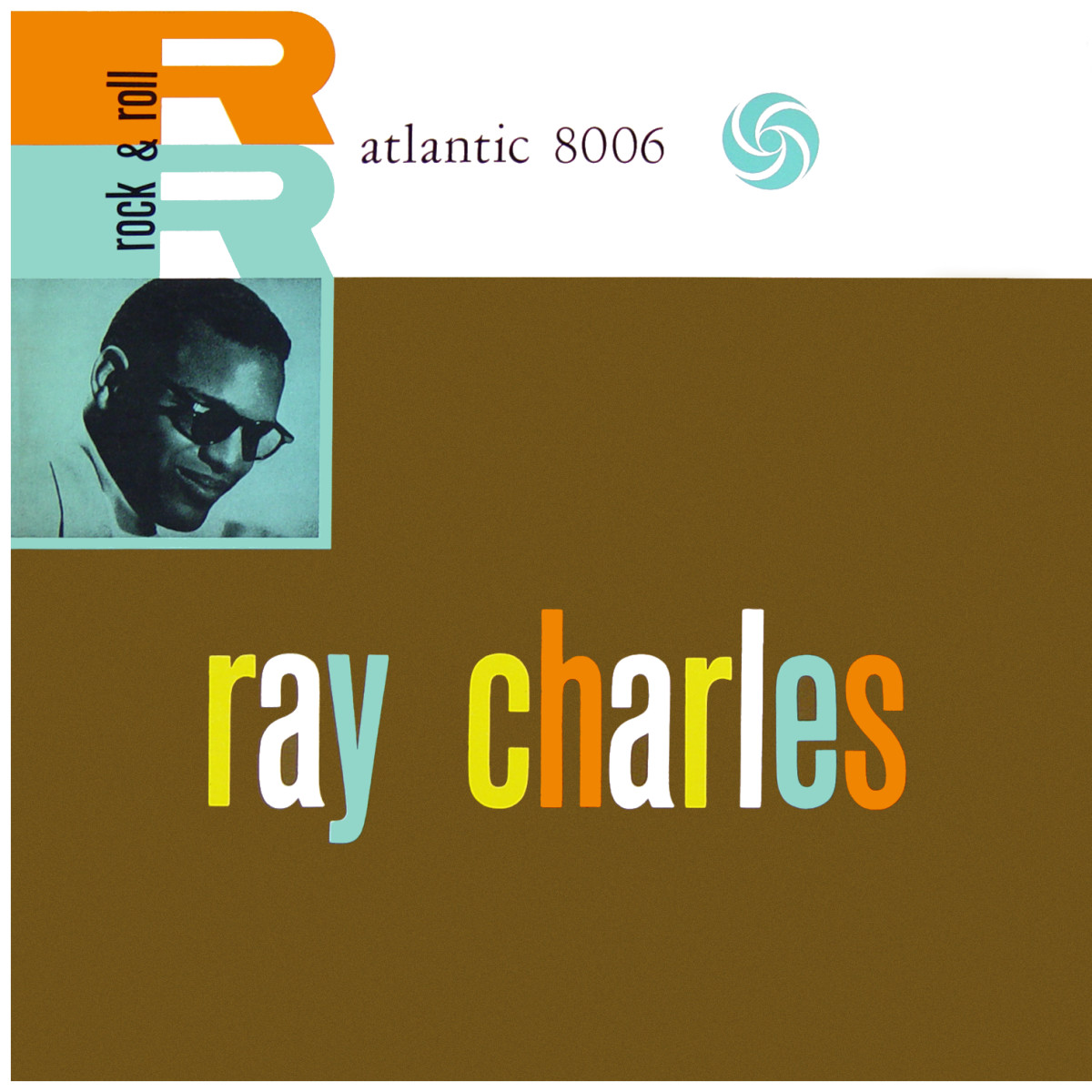 "Ray Charles ""Ray Charles"" Atlantic Records 8006 12"" LP Vinyl Record (1980 re-issue) US Pressing"