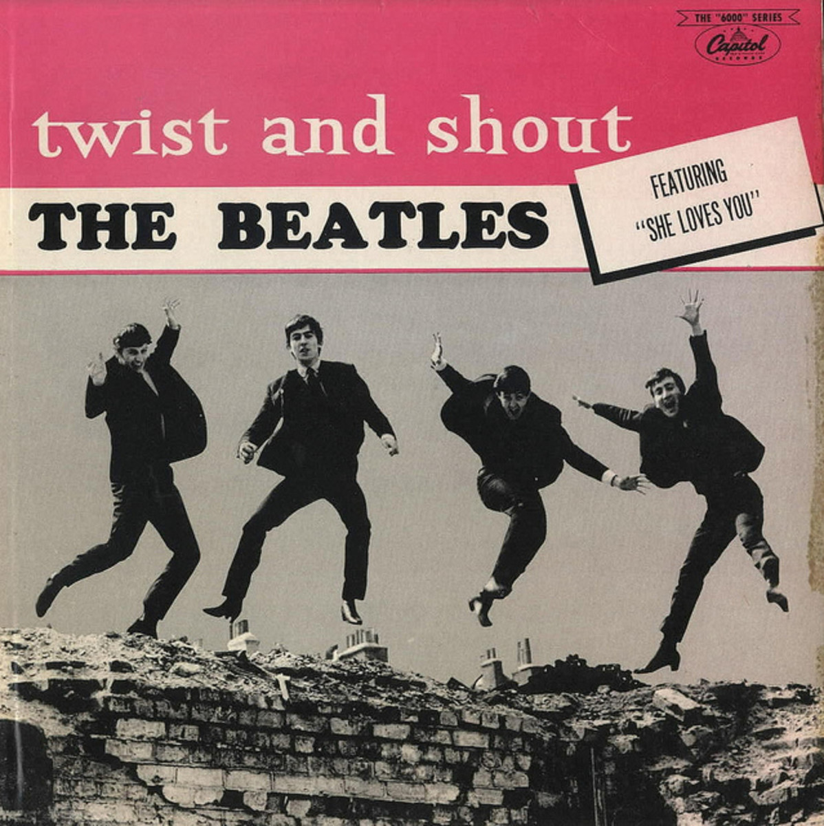 "The Beatles ""Twist & Shout"" Capitol Records T 6054 12"" LP Vinyl Record (1964) Canadian Pressing"
