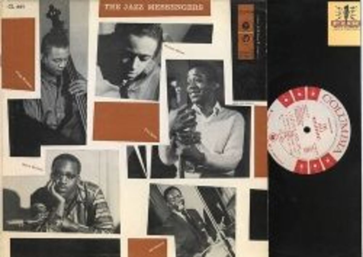 The Jazz Messengers Columbia Records CL 897 JAZZ Vinyl LP Record White Label Radio Station Promo