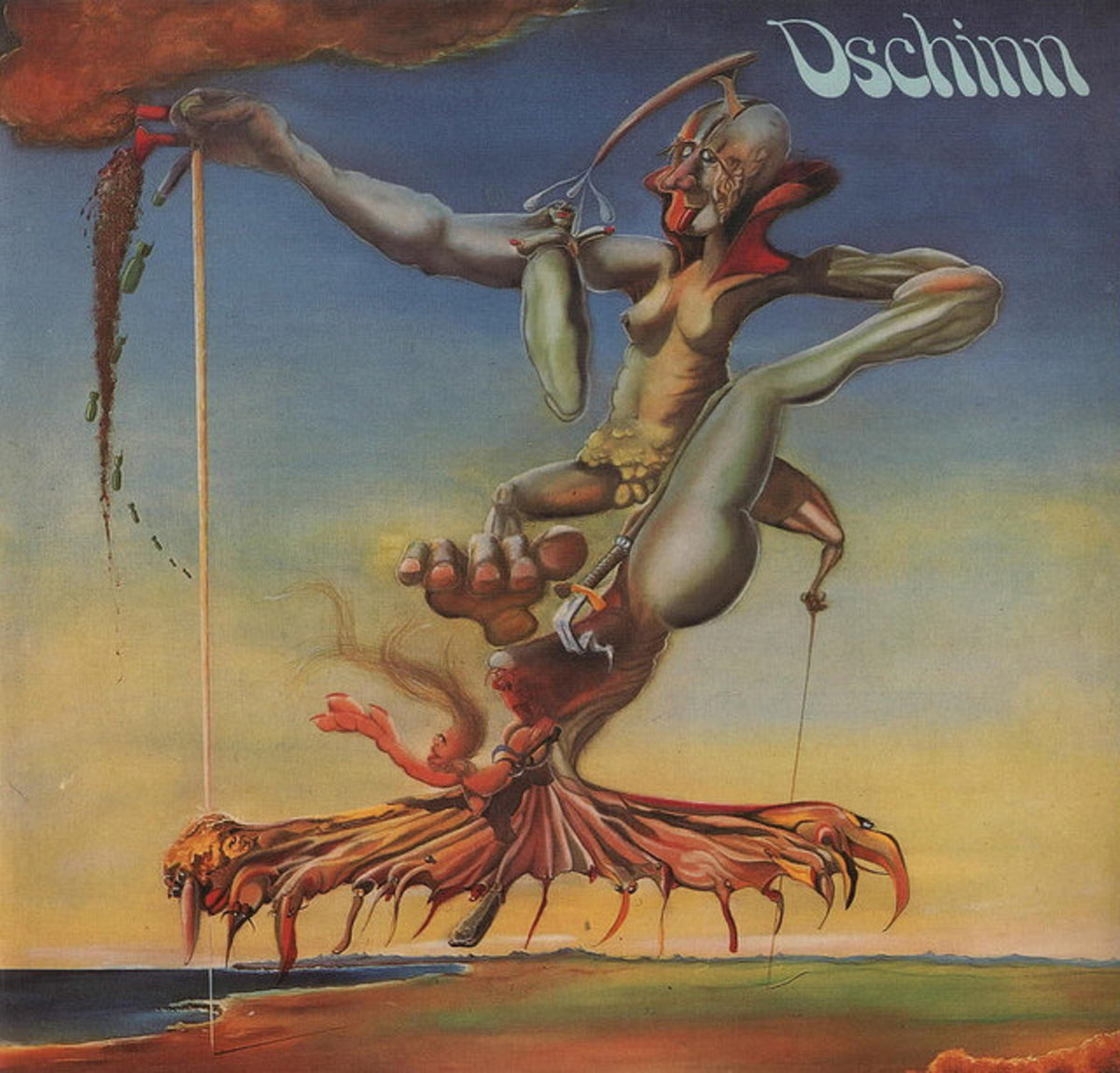"Dschinn ""Dschinn"" Bellaphon / Bacillus Records BLPS 19120 12"" LP Vinyl Record (1972) German Pressing"