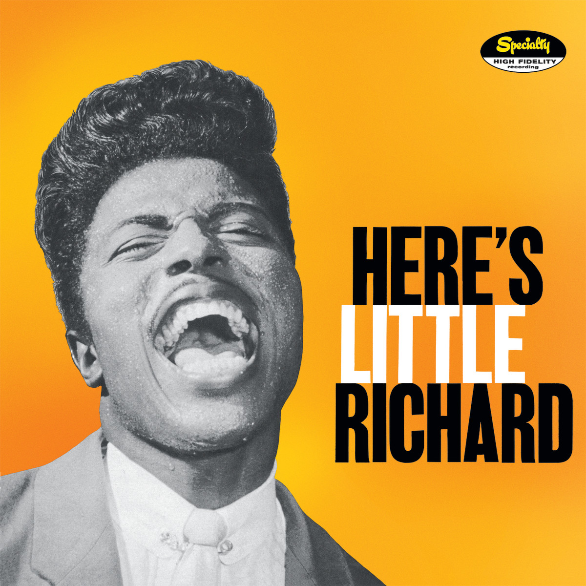 "Little Richard ""Here's Little Richard"" Specialty Records SP-!00 12"" LP Vinyl Record (1957) US Pressing"