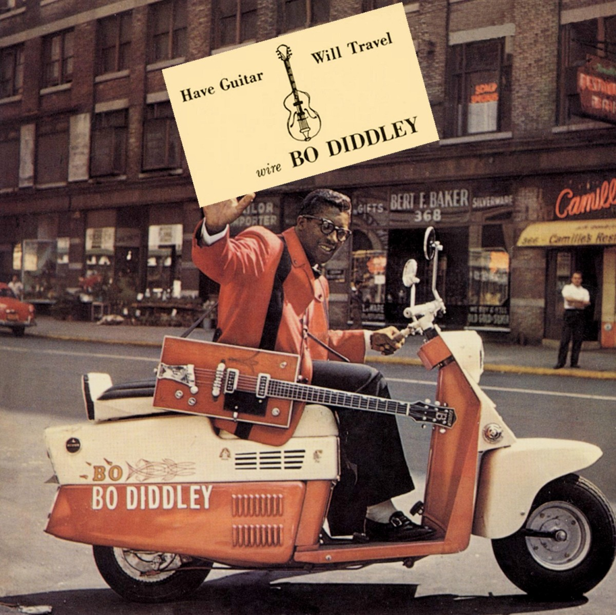 "Bo Diddley ""Have Guitar Will Travel"" Checker Records LP 2974 12"" LP Vinyl Record (1960) US Pressing"