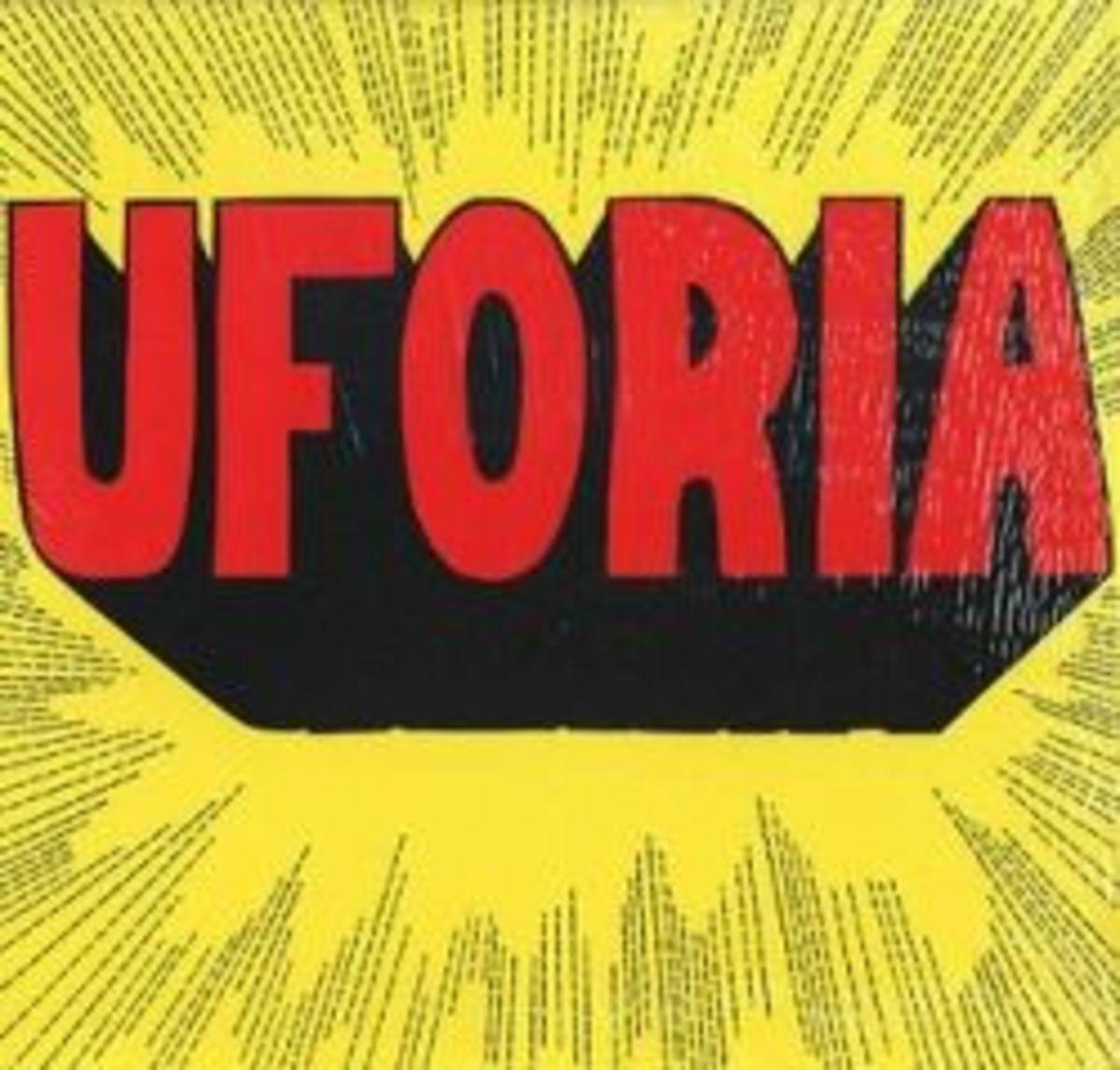 """Uforia """"Uforia"""" Private Press 12"""" LP Vinyl Psychedelic Rock 1980"""