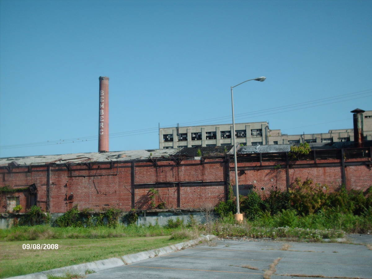 The American Bemberg Rayon Factory as it sits today.