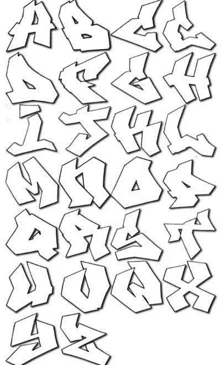 620yfew: graffiti alphabet styles 3d