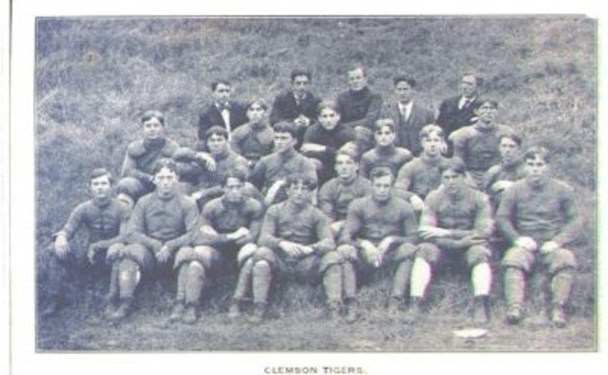 Clemson Tiger Football Team 1906-1907