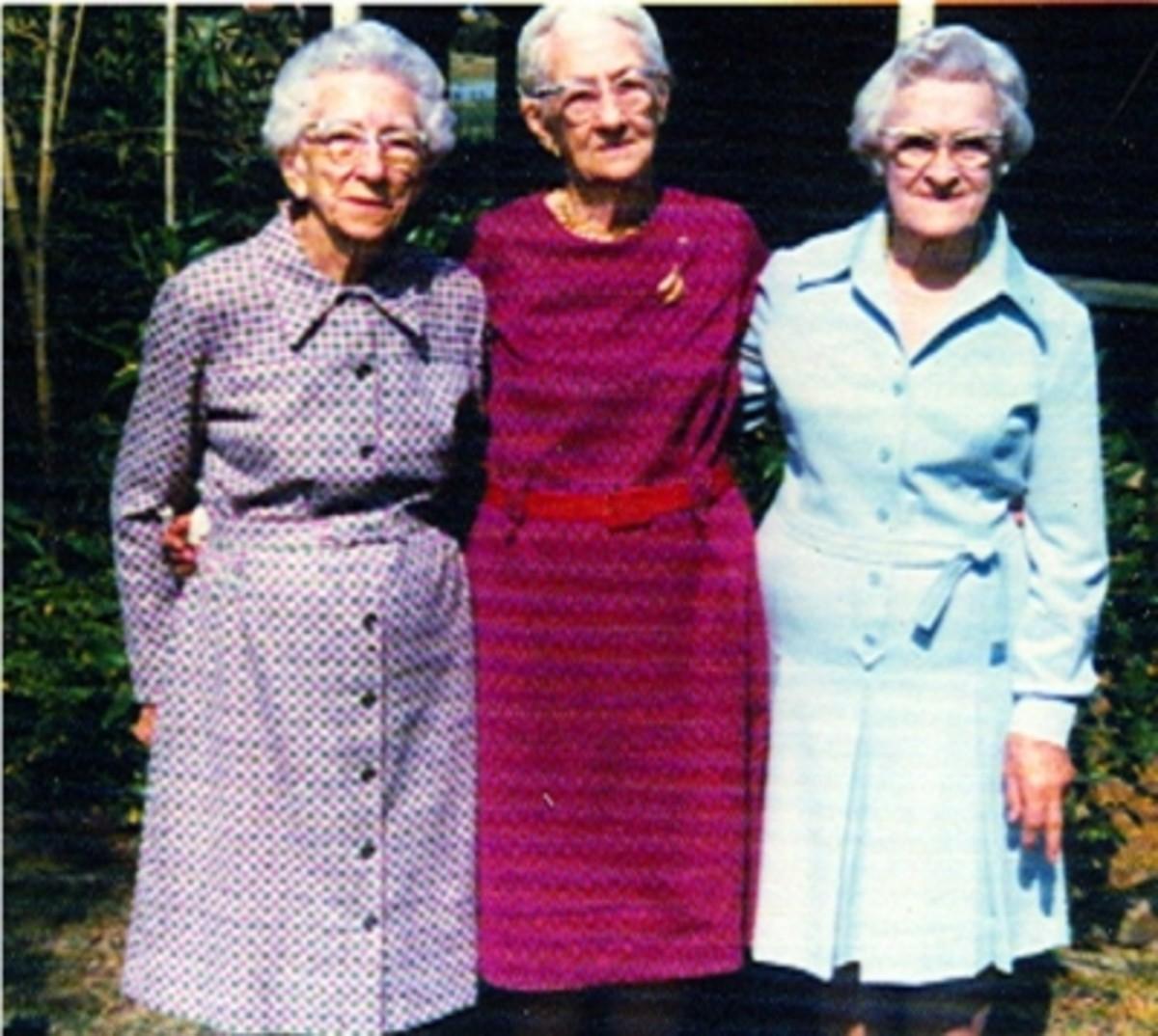 Decie, Eva and Blanche