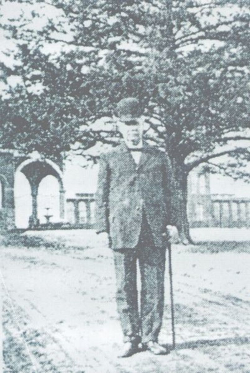 Dr. P.H.E. Sloan at Clemson College. He was the first paid employee of Clemson College. The memorial hangs in Tillman Hall.