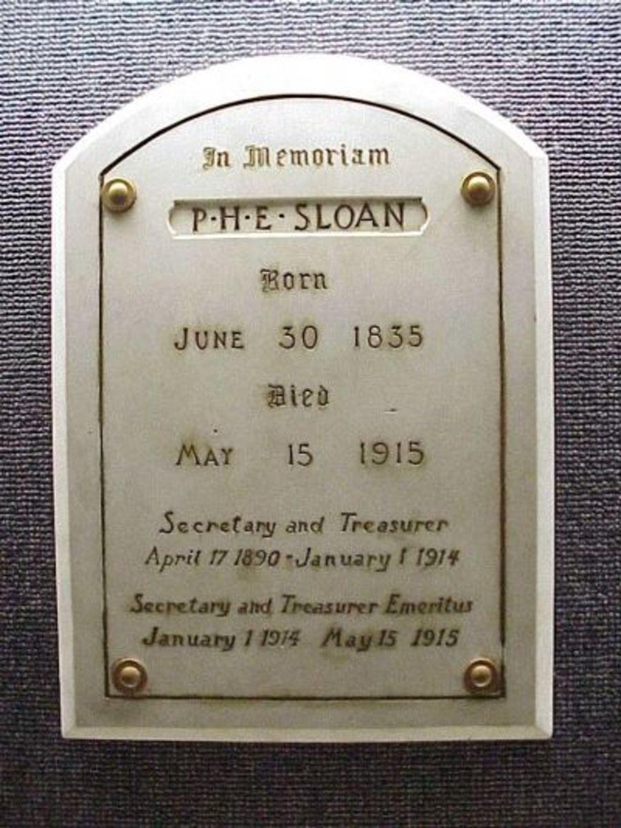 PHE Sloan Memorial at Clemson University