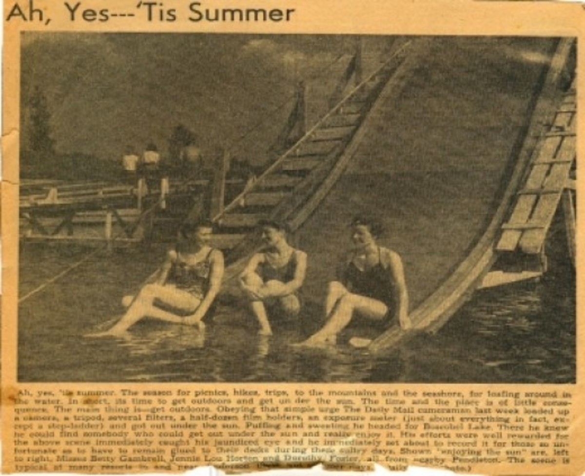 Newspaper clipping from The Daily Mail - date unknown - Thank you Martha Seawright for sharing this.