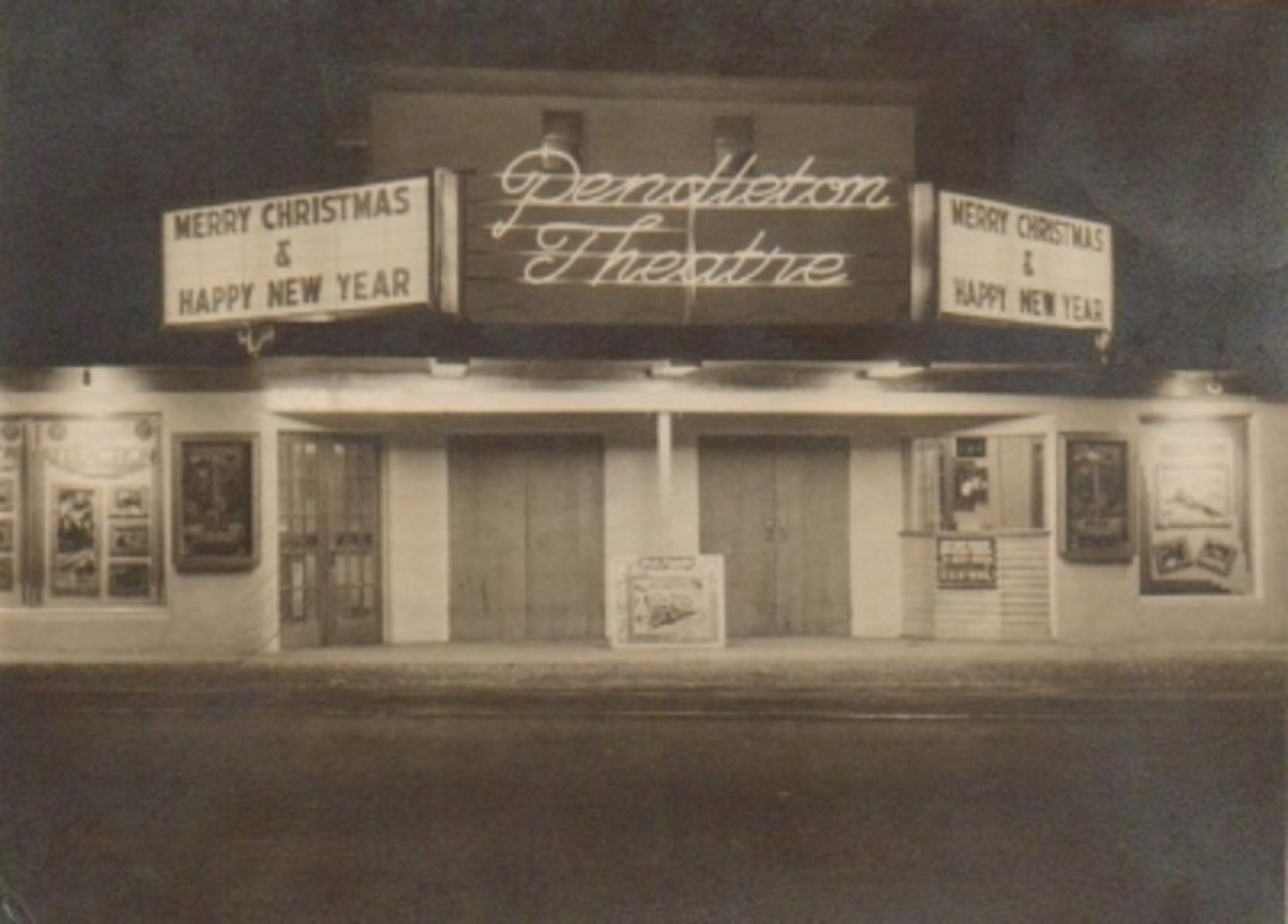Old Pendleton Theatre Photo contributed by Mary Nan Timms