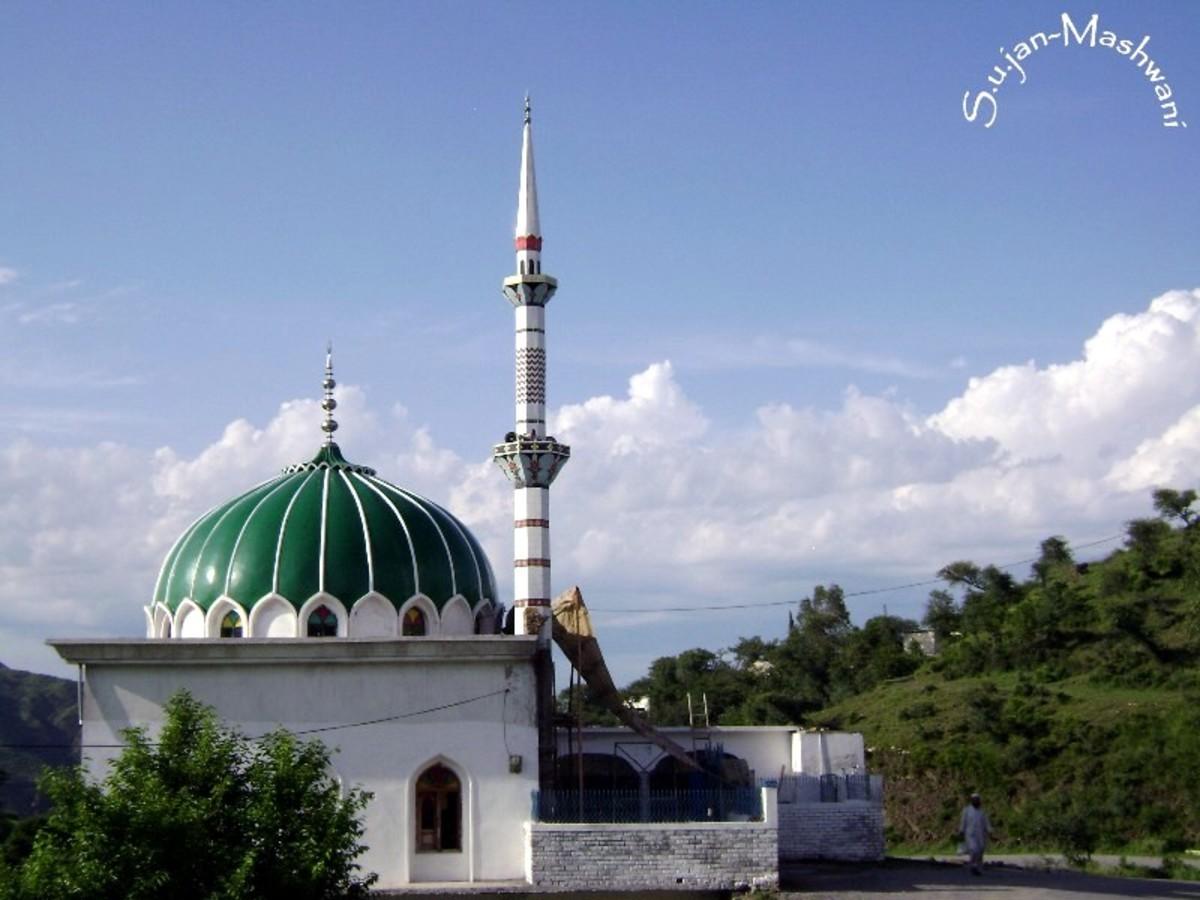 Kandaona kheroch beautiful mosque