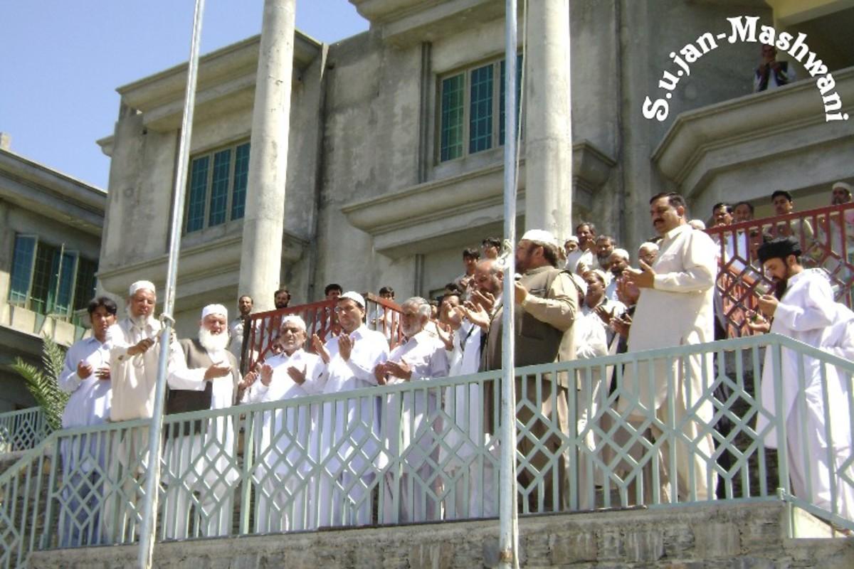 Opening Tayab ul aloom educational complex at Sirikot