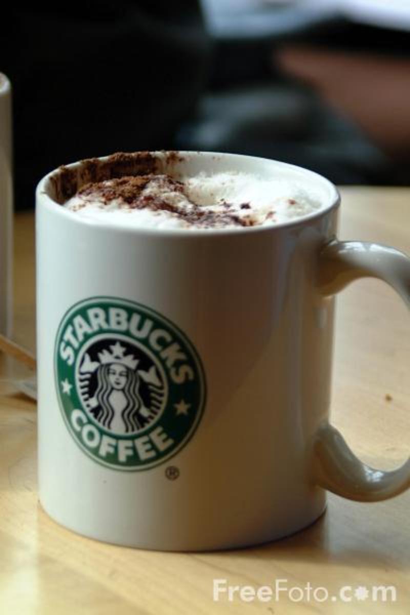 Starbucks Latte Mug; Image source: http://www.freefoto.com/