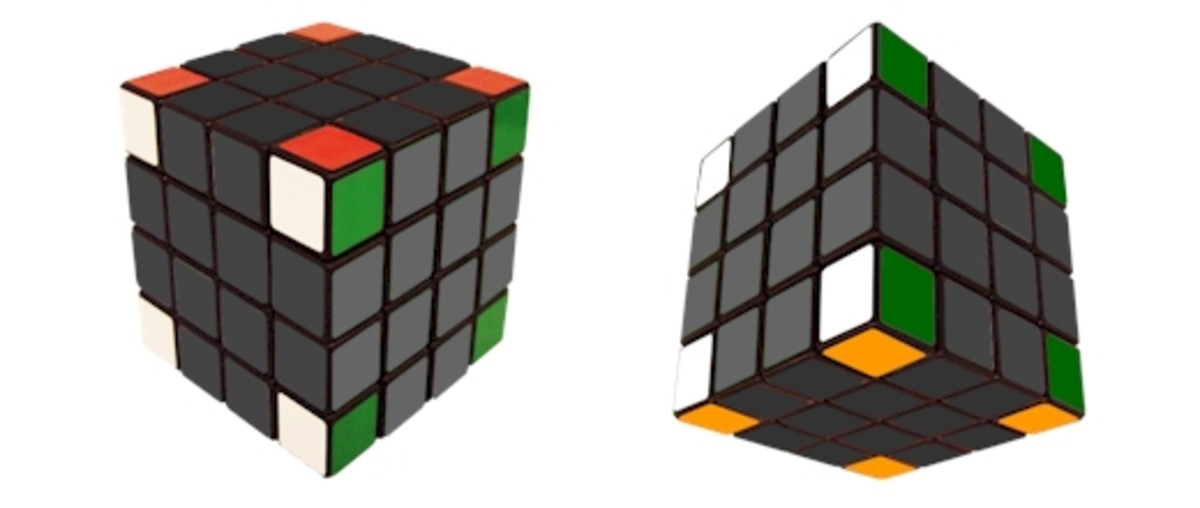 How To Solve A 4x4x4 Rubiks Cube - Rubiks Revenge - 4x4