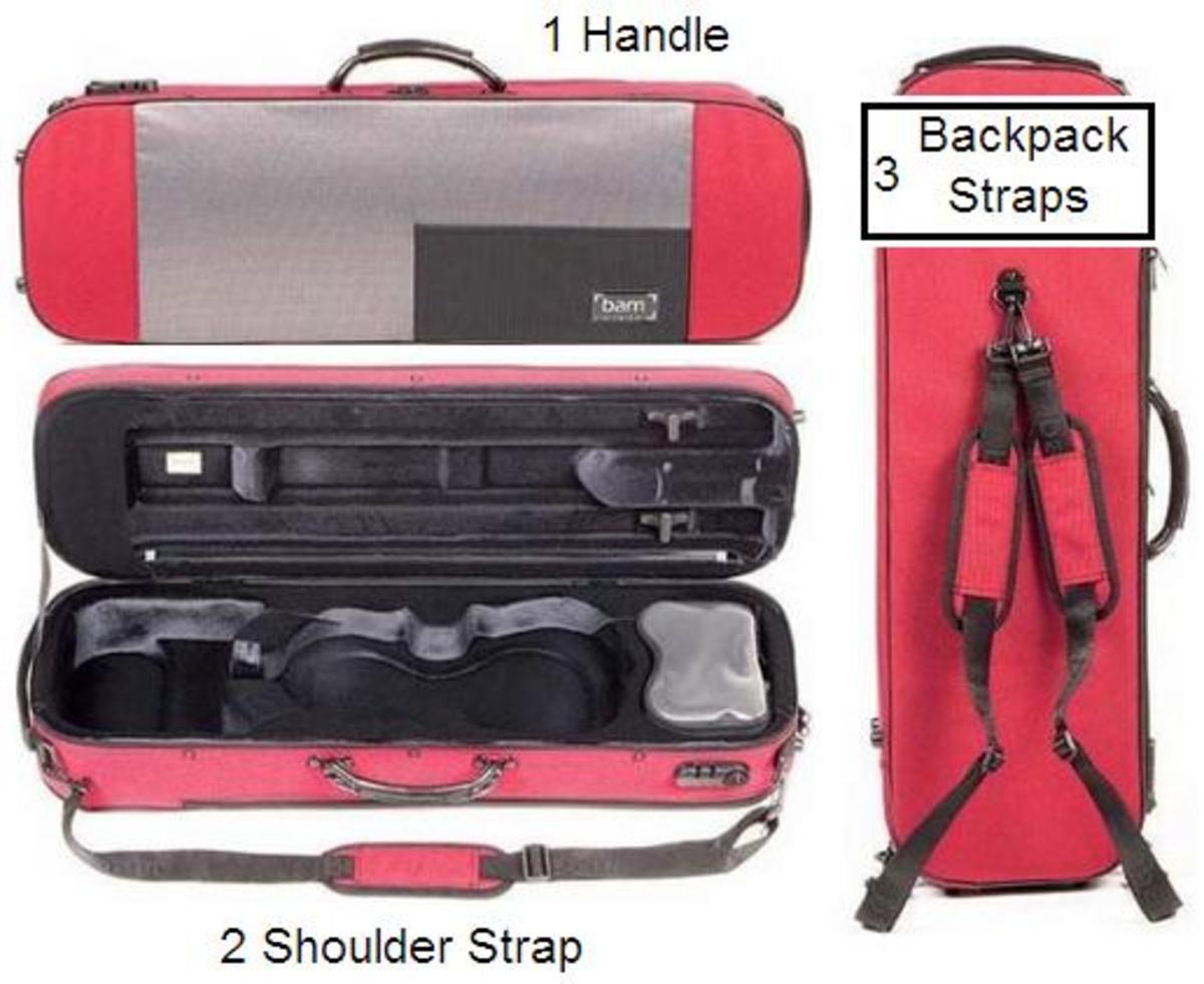 Violin Case With Shoulder Strap