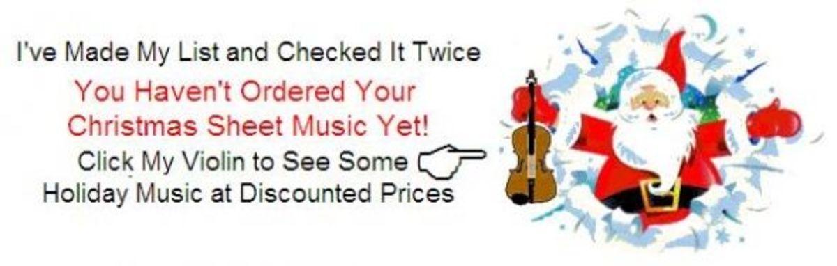 Santa Christmas Music Reminder