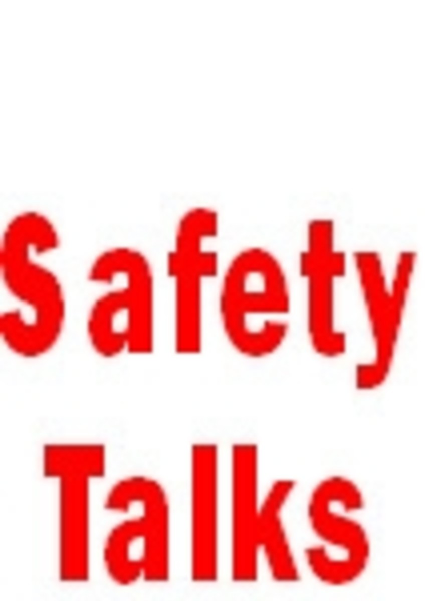 5 Minute Safety Talks