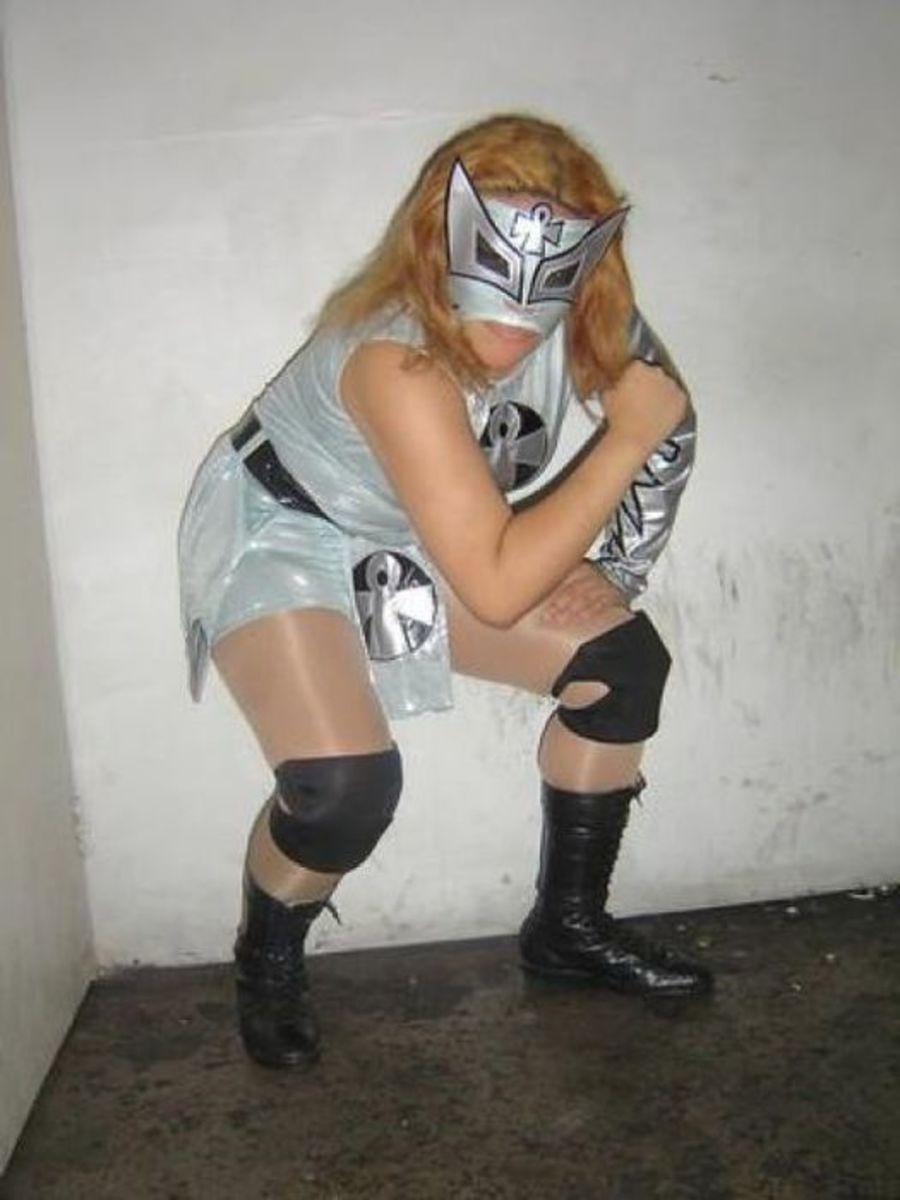 The Women of Lucha Libre Wrestling 2