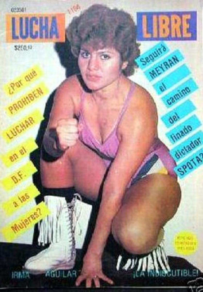 Legendary luchadora Irma Aguilar