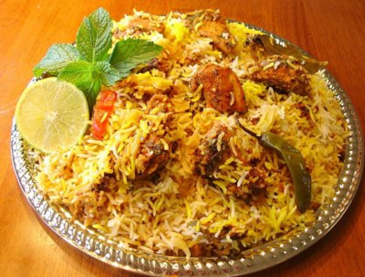 How To Make The Perfect Fragrant CHICKEN BIRYANI The Easy Way-In A Cooker