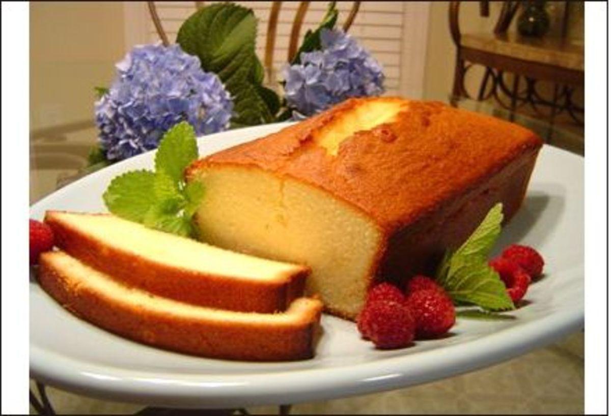 Diabetic pound cake