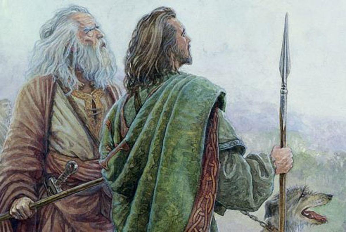 Fionn and Diarmuid