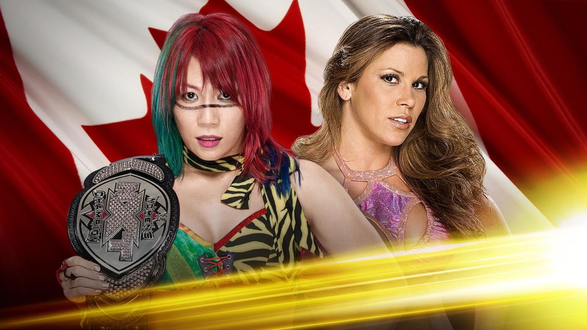 Asuka vs Mickie James - NXT Takeover: Toronto