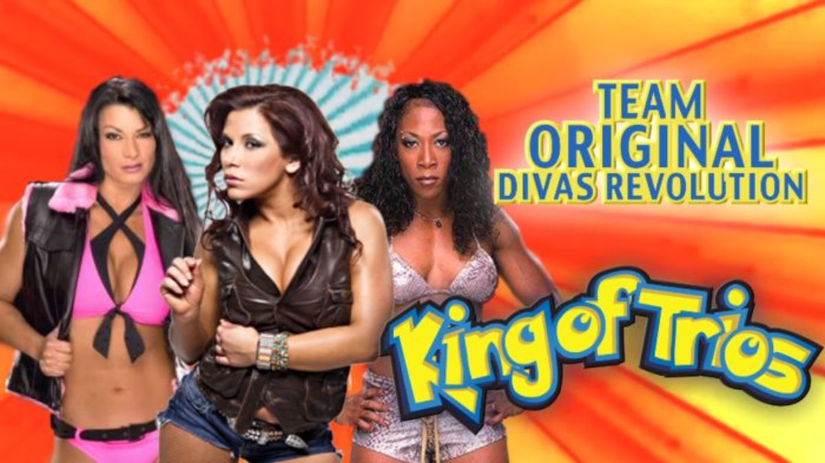 Mickie James, Victoria and Jazz - King of Trios 19