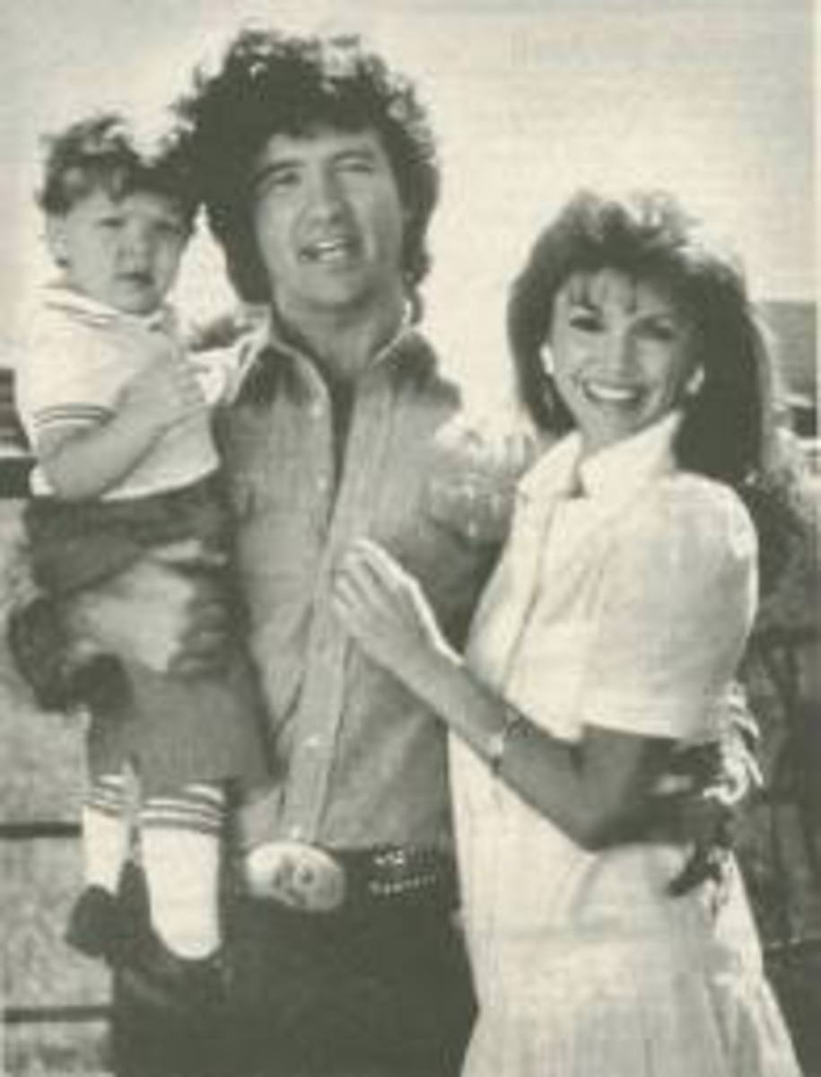 Bobby and Pamela together with Christopher