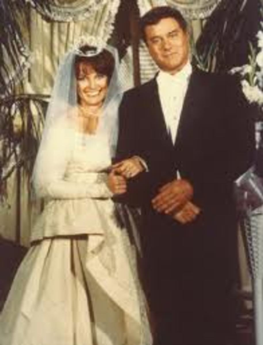 Sue Ellen and JR in 1970