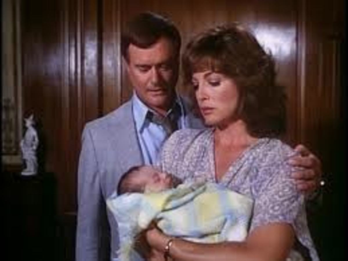 JR Sue Ellen and John Ross