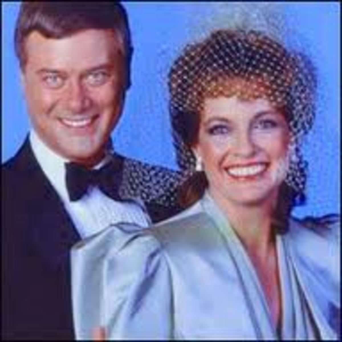 JR and Sue Ellen